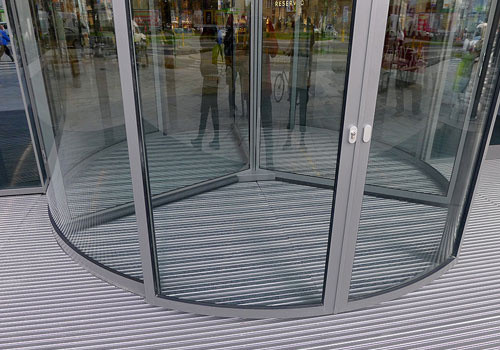 Entrance by Matting - ALU karuselldörr 3 mm
