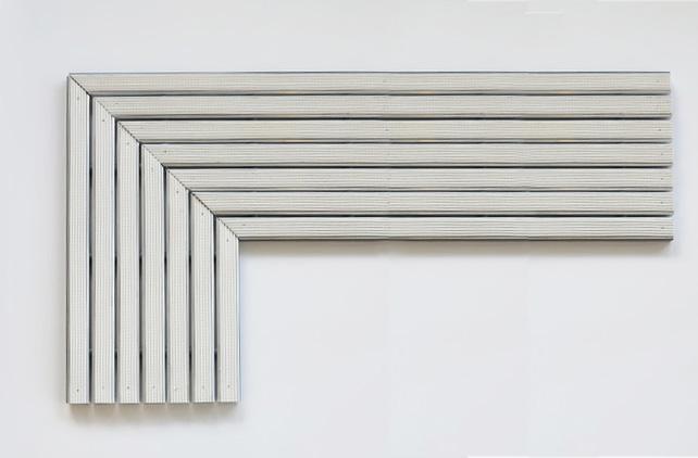 Entrance ALU, aluminiumprofilmatta med girat ledstråk ATF