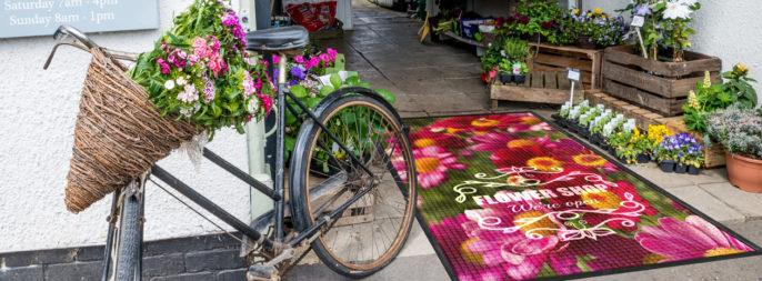 Entrance DRY - Combi Print, blomsterbutik