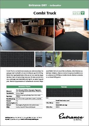 Produktblad Combi Truck 389503